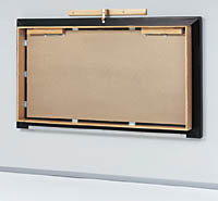 Wall-mounted mat platform